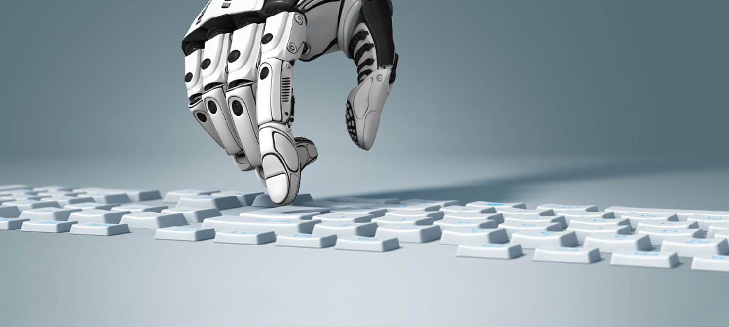 Rpa Robotic Process Automation Efficiency Productivity Quality Touch Screen  Illustration — Stock Photo